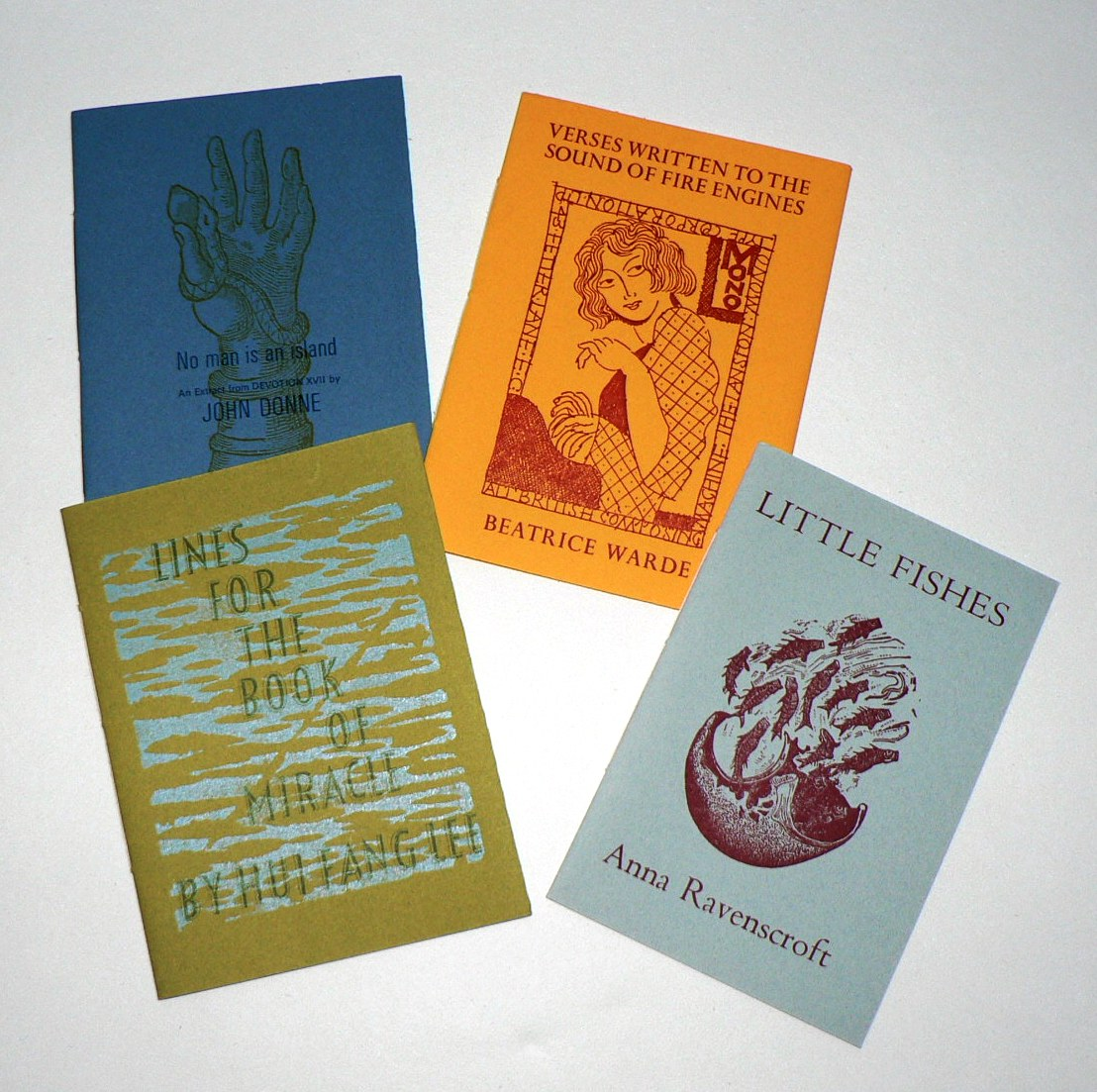 Set of Four Miranda Booklets from Incline Press