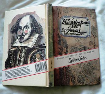 W. Shakespeare, Gent. His actual notebook