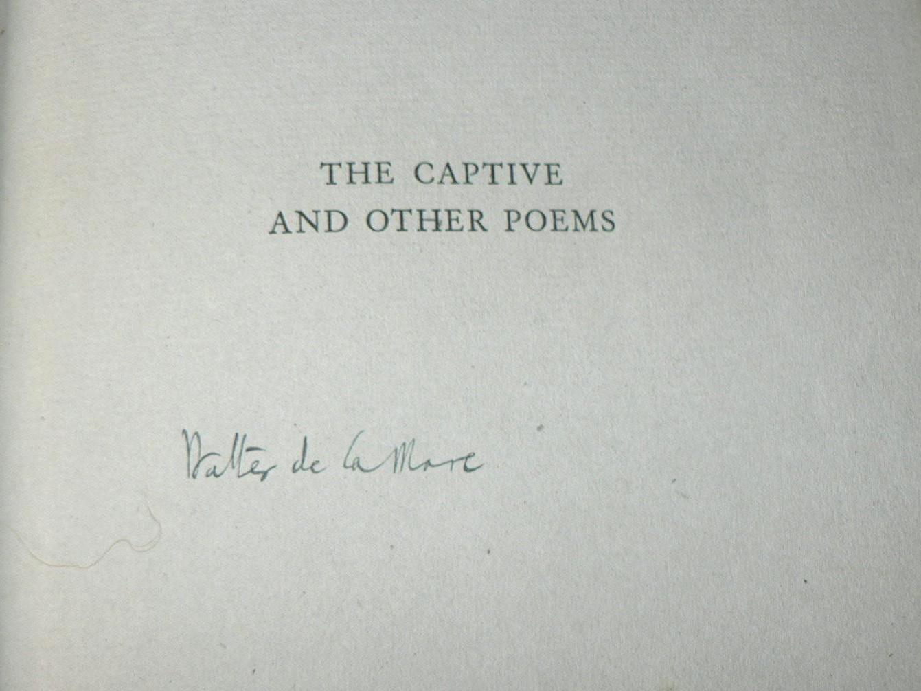 The Captive and Other Poems