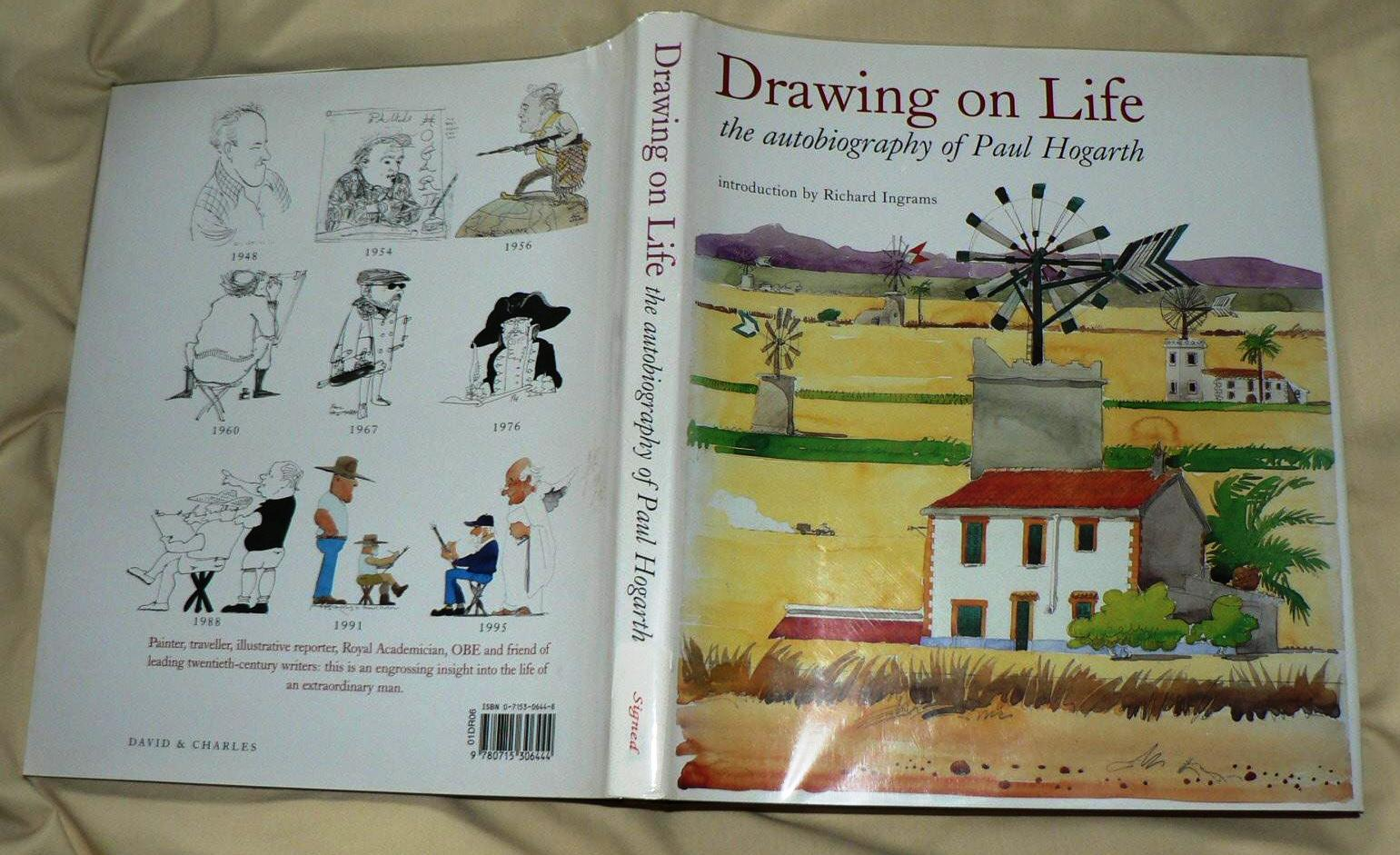 Drawing on Life: the autobiography of Paul Hogarth (Signed)