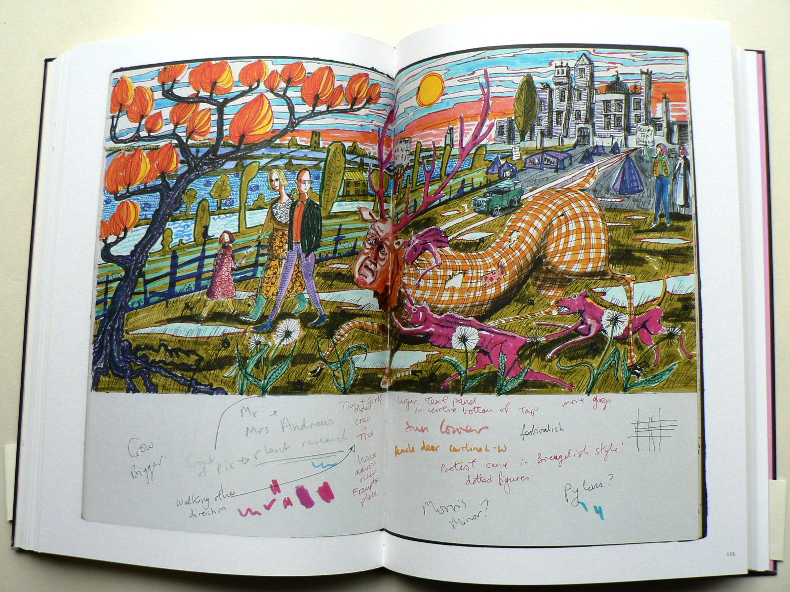 Grayson Perry Sketchbooks (SIGNED)